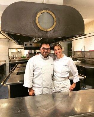 Edu, mi pareja en la cocina
