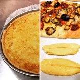 Tarta Bourdaloue, Focaccia, y Tortilla a la Francesa