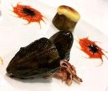 Calamares en su Tinta y Glaseado de Ajo