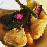 Salteado de Verduras con Calamares